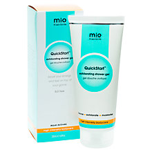 Buy Mio Quickstart Exhilarating Shower Gel, 200ml Online at johnlewis.com
