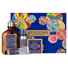Buy L Occitane Men Collection Online at johnlewis.com