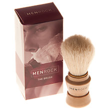 Buy Menrock Hog Hair Shaving Brush Online at johnlewis.com