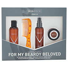 Buy Men Rock Beard Care Kit Online at johnlewis.com