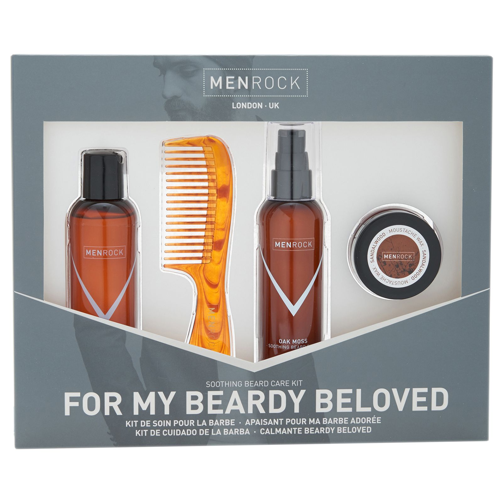 Men Rock Men Rock Beard Care Kit
