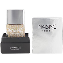 Buy Nails Inc. Nail Polish, Whitechapel Snowflake Online at johnlewis.com