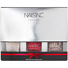 Buy Nails Inc. Winter Wonderland Collection Gift Set, 3x14ml Online at johnlewis.com