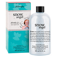 Buy Philosophy Snow Angel Shampoo and Bodywash, 480ml Online at johnlewis.com