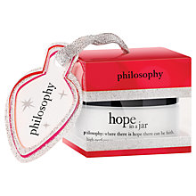 Buy Philosophy Hope In A Jar Facial Moisturiser, 15ml Online at johnlewis.com