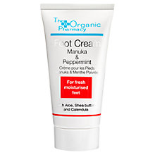 Buy Organic Pharmacy Manuka & Peppermint Foot Cream, 50ml Online at johnlewis.com