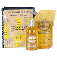 Buy L'Occitane Indulging Almond Shower Oil and Eco-Refill Duo Online at johnlewis.com