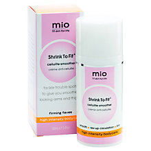 Buy MIo Shrink to Fit Cellulite Smoother, 100ml Online at johnlewis.com