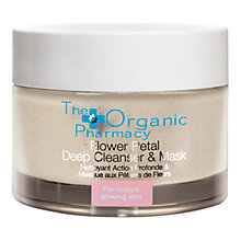 Buy Organic Pharmacy Flower Petal Deep Cleanser and Exfoliating Mask, 60g Online at johnlewis.com