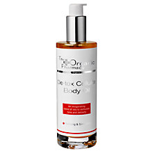 Buy Organic Pharmacy Detox Cellulite Body Oil, 100ml Online at johnlewis.com