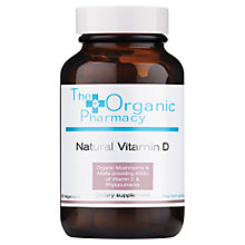 Buy Organic Pharmacy Natural Vitamin D, 60 Capsules Online at johnlewis.com