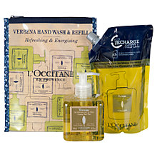 Buy L'Occitane Verbena Hand Wash and Eco-Refill Duo Online at johnlewis.com
