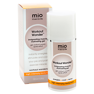 Mio Workout Wonder Invigorating Muscle Motivating Gel, 100ml