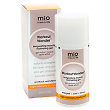 Buy Mio Workout Wonder Invigorating Muscle Motivating Gel, 100ml Online at johnlewis.com