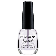 Buy FABY Top Coat LTS001, 15ml Online at johnlewis.com