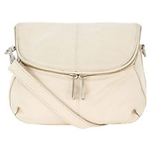 Buy Oasis Savannah Zip Across Body Leather Bag Online at johnlewis.com