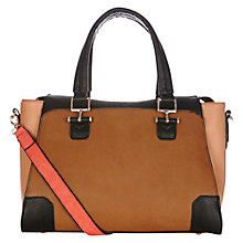 Buy Oasis Tandy Medium Tote Bag, Tan Online at johnlewis.com