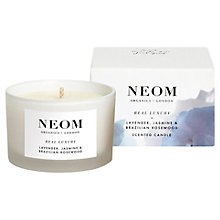 Buy Neom Real Luxury Travel Candle, 75g Online at johnlewis.com