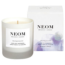 Buy Neom Tranquillity Standard Candle, 185g Online at johnlewis.com