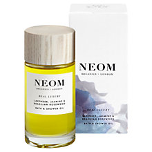Buy Neom Real Luxury Bath and Shower Oil, 100ml Online at johnlewis.com