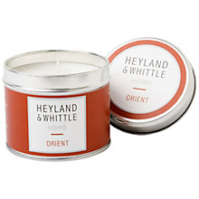 Buy Heyland & Whittle Orient Travel Candle, 180g Online at johnlewis.com