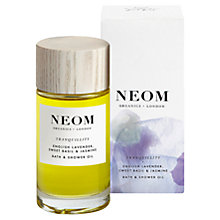 Buy Neom Tranquillity Body and Bath Oil, 100ml Online at johnlewis.com