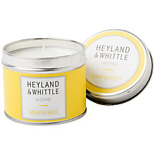 Buy Heyland & Whittle Grapefruit Travel Candle, 180g Online at johnlewis.com