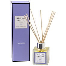 Buy Heyland & Whittle Lavender Diffuser, 100ml Online at johnlewis.com