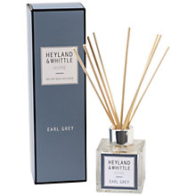 Buy Heyland & Whittle Earl Grey Diffuser, 100ml Online at johnlewis.com