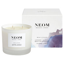 Buy Neom Real Luxury 3 Wick Candle, 420g Online at johnlewis.com