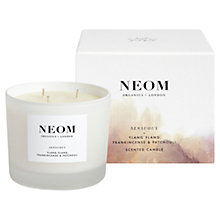 Buy Neom Sensuous 3 Wick Candle, 420g Online at johnlewis.com
