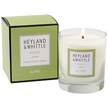 Buy Heyland & Whittle Alpine Candle, 220g Online at johnlewis.com