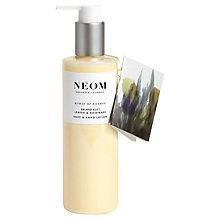 Buy Neom Burst of Energy Body and Hand Lotion, 250ml Online at johnlewis.com