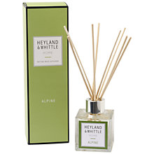 Buy Heyland & Whittle Alpine Diffuser, 100ml Online at johnlewis.com