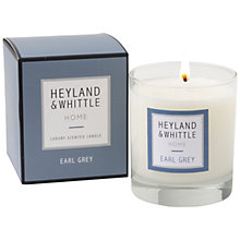 Buy Heyland & Whittle Earl Grey Candle, 220g Online at johnlewis.com
