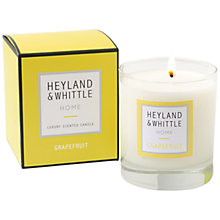 Buy Heyland & Whittle Grapefruit Candle, 220g Online at johnlewis.com