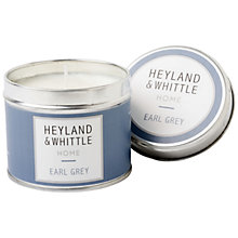 Buy Heyland & Whittle Earl Grey Travel Candle, 180g Online at johnlewis.com