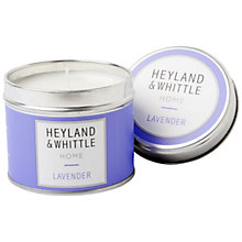 Buy Heyland & Whittle Lavender Travel Candle, 180g Online at johnlewis.com