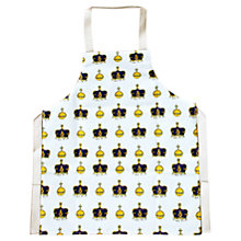 Buy Milly Green Crown and Orb Apron Online at johnlewis.com