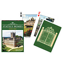 Buy Stately Homes Playing Cards Online at johnlewis.com