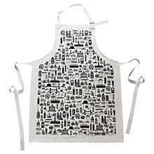 Buy Martha Mitchell British Print Apron Online at johnlewis.com