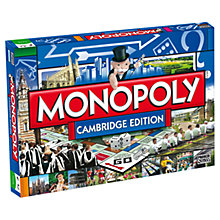 Buy Winning Moves Cambridge Edition Monopoly Online at johnlewis.com