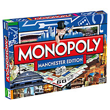 Buy Winning Moves Manchester Edition Monopoly Online at johnlewis.com