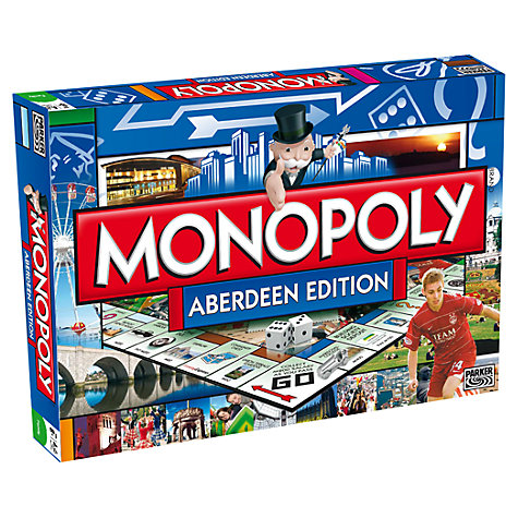 Buy Winning Moves Aberdeen Edition Monopoly Online at johnlewis.com