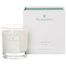 Buy Pecksniff's Ice Tea and Fig Candle Online at johnlewis.com