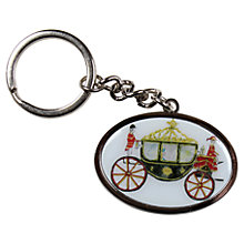 Buy Milly Green Royal Carriage Key Ring Online at johnlewis.com