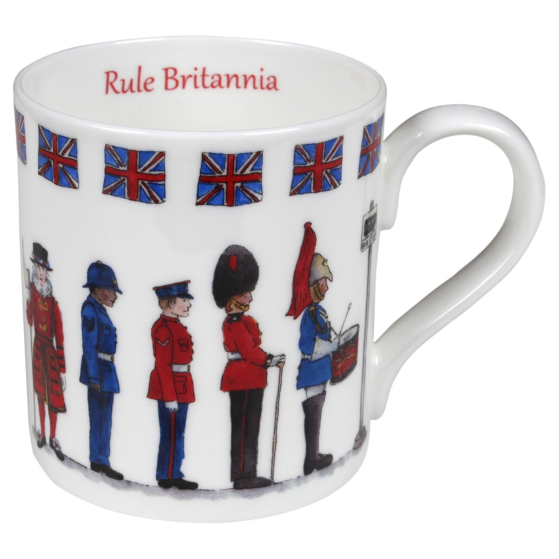 Milly Green Milly Green Rule Britannia China Mug