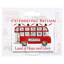 Buy Milly Green Land of Hope and Glory Fridge Magnet Online at johnlewis.com