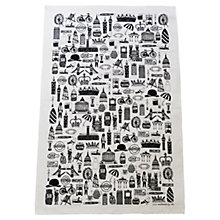 Buy Martha Mitchell British Print Tea Towel Online at johnlewis.com