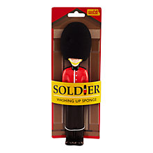 Buy Paladone Soldier Washing Up Sponge Online at johnlewis.com